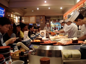 All You Can Eat Japanese Running Sushi 1