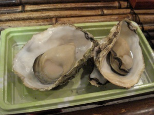 Japan Travel Destination Miyajima Food Oysters