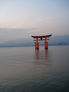 Japan Travel Destination Miyajima O-Torii Gate 2