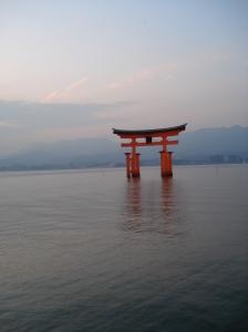Japan Travel Destination Miyajima O-Torii Gate 2