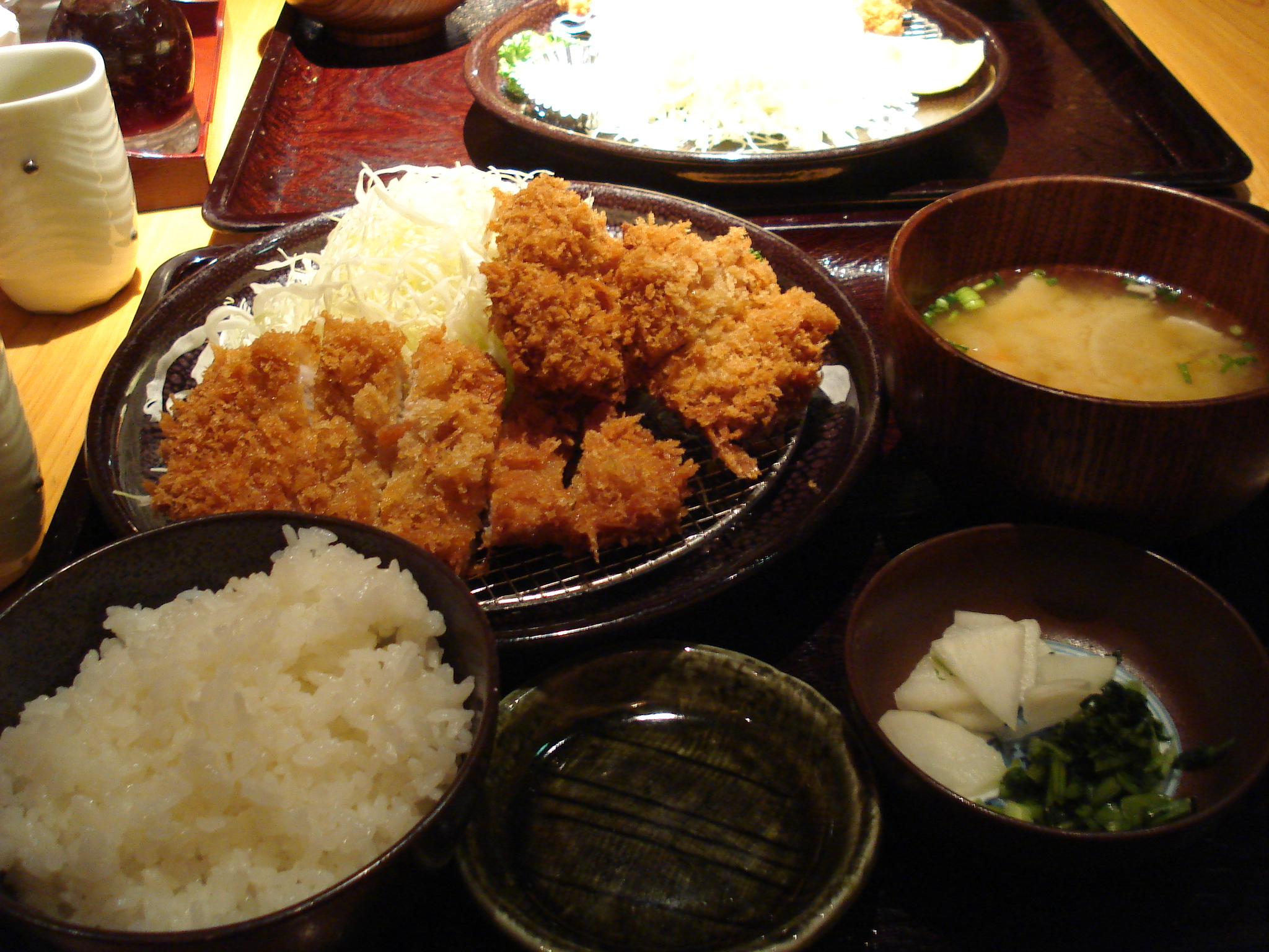 Local japanese food ton katsu or pork chops cutlets for About japanese cuisine
