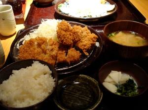 Japanese Food Ton-katsu
