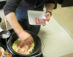 Japanese Okonomiyaki Bacon